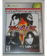 XBOX - SOUL CALIBUR II (Complete with Manual) - $15.00