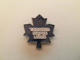 Toronto Maple Leafs NHL National Hockey League vintage metal & enamel la... - $11.39