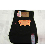 Levis Strauss 501 31 X 36 Mens Black Preshrunk Jeans NOS Made In USA NWT... - $124.99