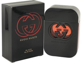 Gucci Guilty Black Perfume 2.5 Oz Eau De Toilette Spray image 2