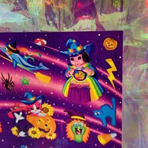 VHTF MINT Vintage Lisa Frank Pigarella Fortune Teller Halloween Stickers S319 image 2