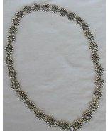 Oynx flowers necklace - $155.00