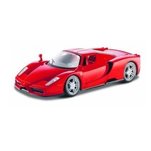 Maisto 1:24 Scale Assembly Line Ferrari Enzo Diecast Model Kit Colors Ma... - $49.34