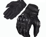 Motorcycle Gloves Racing Moto Leather Driving Cycling Ride Bike Motorbike ATV