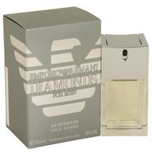 Emporio Armani Diamonds by Giorgio Armani Eau De Toilette Spray 1 oz (Men) - $53.13