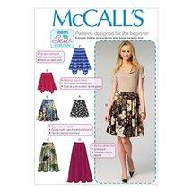 McCall Pattern Company M6994 Misses' Skirts, Size ZZ (Large-X-Large-XX-Large) - $14.21
