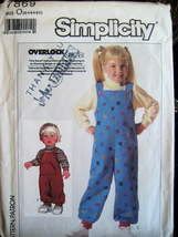 Simplicity 7869 Vintage 80s Child 5 to 6x UNCUT Pattern Knit - $6.95