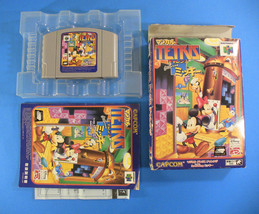 Magical Tetris feat. Mickey ~ Complete in Box CIB (Nintendo 64 N64, 1997... - $16.54