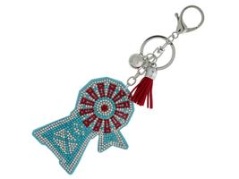 Windmill Faux Suede Tassel Stuffed Pillow Key Chain Handbag Charm - $12.95