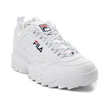 Neuf FILA Disruptor II Premium Athlétique Chaussure Logo Blanc Femmes 2 - $100.52