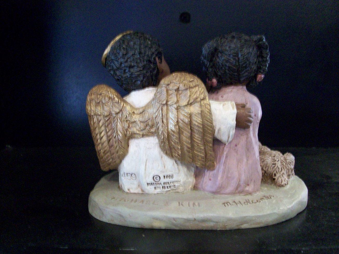All God's Children - Michael & Kim, Angel and Girl, Item #1517, New in Box w/COA