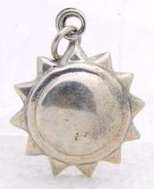 VTG .925 Sterling Silver 3D Sun Celestial Necklace Pendant - $26.73