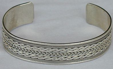 Primary image for Ariel LH  silver bangle unisex