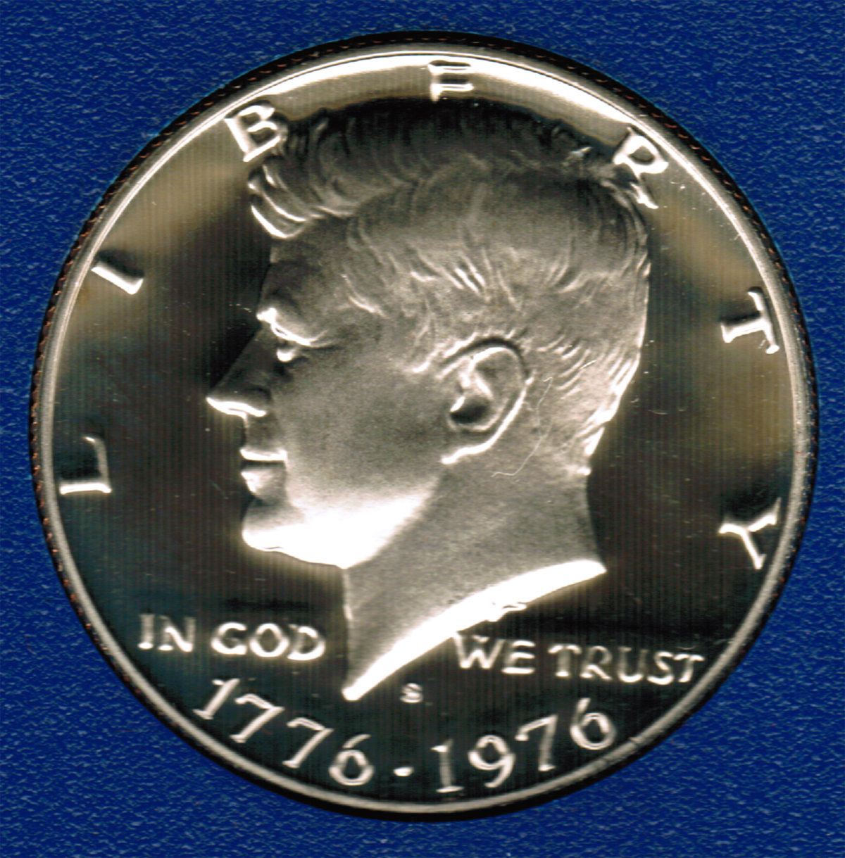 1976 S PROOF Kennedy Half Dollar CP2015