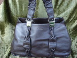 Furla Corolla Coffee Brown Leather Tote  - $299.99