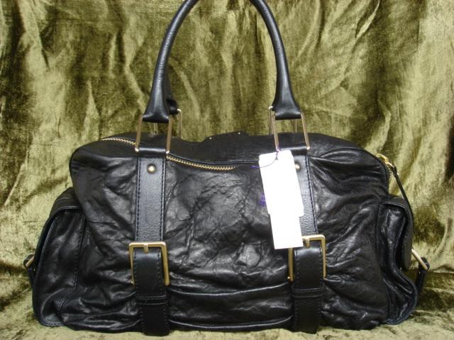 Botkier Black Leather Satchel