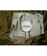 Chloe Blanc Leather Tote - $249.99