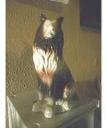 Collie Dog Figurine Ceramic Made in Brazil K's Collection MCS01/Retired ... - $14.84
