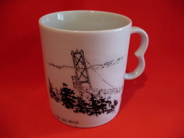 Home Oil Gas Stations Lions Gate Bridge Vancouver BC. Coffee Cup Mug Sou... - $9.95