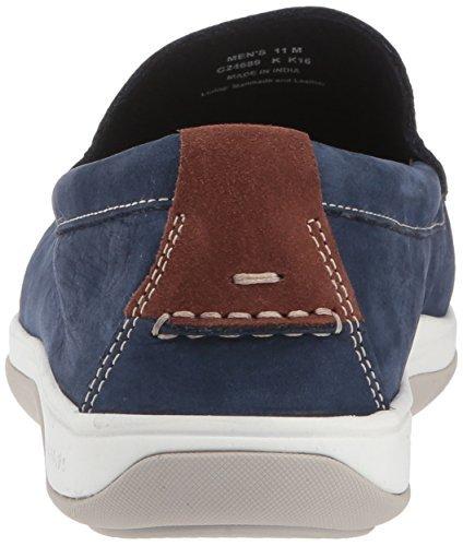 Cole Haan Men's Boothbay Slip ON Loafer, Marine Blue Nubuck, 10 Medium US image 2