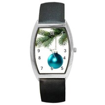 Turquoise Ornament On Pine Bough Christmas Tree Watch 9 Othr Styls Sport Charm - $25.99