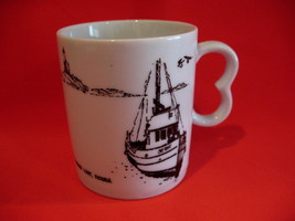 Home Oil Gas Stations Fisgard Lighthouse Victoria BC. Coffee Cup Mug Sou... - $9.95