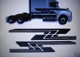 Semi #1 Decal Graphic Truck Trailer Suv - $100.00