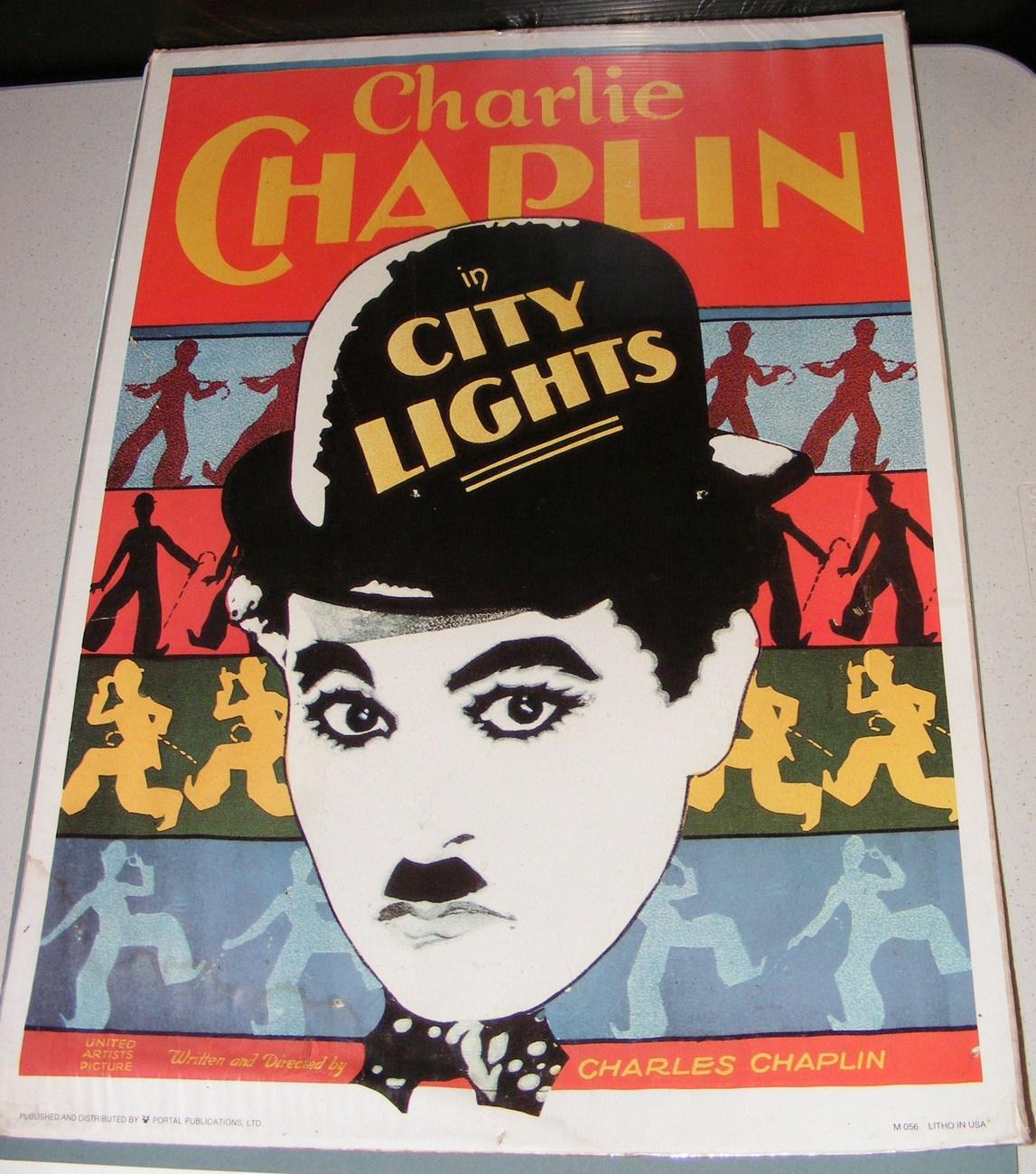 Charlie Chaplin Movie Poster - 1970-79