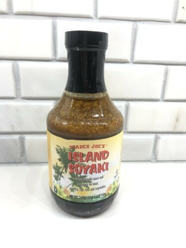 1 X Factory Sealed Trader Joe's Island Soyaki Sauce 20oz Vegan Teriyaki Marinade - £12.95 GBP