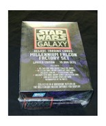 Topps Star Wars Galaxy Deluxe Trading Card Millennium Falcon Factory Set... - $150.00