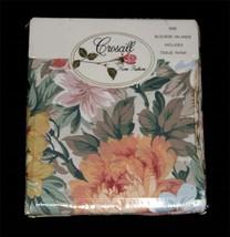 "VTG? Croscill Pastel Floral Shabby BLOUSON Valance 86"" x 15"" NIP Paper I... - $34.99"