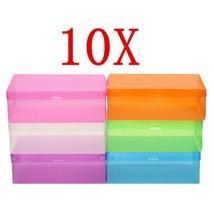 10 PCS/SET Foldable Drawer Type Box Colorful Plastic Shoe Storage Boxes - $24.99