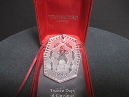 Waterford crystal 1993 Christmas ornament  - $22.44