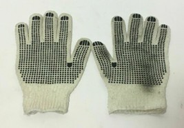 WHITE/BLACK USED GLOVES FOR HEAVY WORK + GARDENING, FREE SHIPPING - $8.90