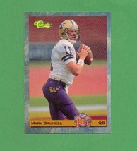1993 Classic Mark Brunell Rookie Card Packers  - $2.00