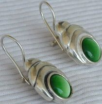 Green oval cat eye thumb200