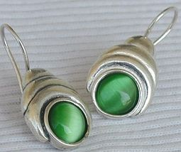 Green oval cat eye 1 thumb200
