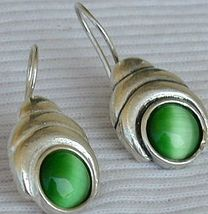 Green oval cat eye 3 thumb200