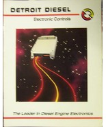 Mid 1990s Detroit Diesel Truck Engines Brochures - Lot of 2! - Full Color - $7.00