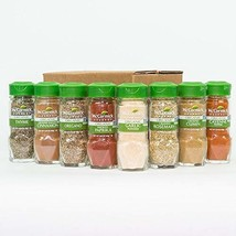 Organic Spice Rack Refill by McCormick, 8 Herbs & Spices Included Restock Pantry