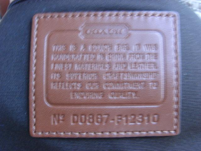 COACH Soho Mini Signature Tote F12310