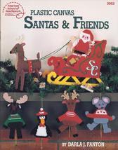 NEW~Santa & Friends Plastic Canvas Patterns by Darla J Fanton~1989 - $3.99