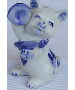 Musical cat collectibles - $42.00