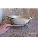 Pfaltzgraff Tea Rose 2 Nesting Oval Bowls New  - $20.99
