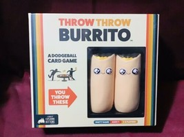 Throw Throw Burrito Card Dodgeball Board Game Family Party Game - $57.42