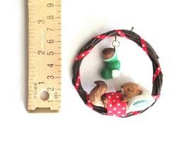 Vintage Hallmark TREETOP DREAMS Squirrel Asleep Christmas Ornament 1987 ... - $9.49