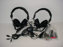 Lot of 2 Xbox Razer Carcharias Wired Headset Mic - $19.70