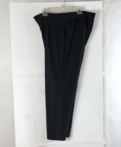 Old Navy Womens Dress Pants Black Pockets Slacks Career Work Dressy Casu... - $6.89