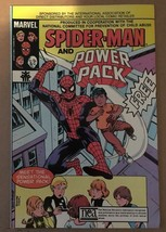 Spider-Man & Power Pack 1984 Marvel Promotional Comic Book VF Condition - $4.49