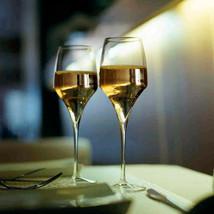Italesse Set 6 Tiburon Gran Cru Champagne Lead Free Xtreme Crystalline Glasses image 2